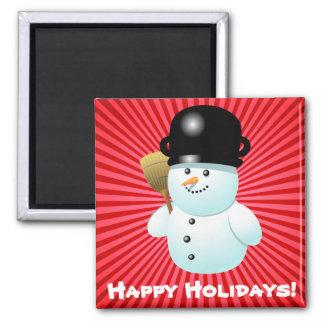 Xmas Snowman Magnet
