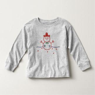 Xmas Snowman Toddler T-shirt