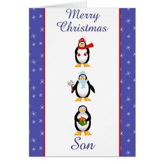 Xmas Son greeting card