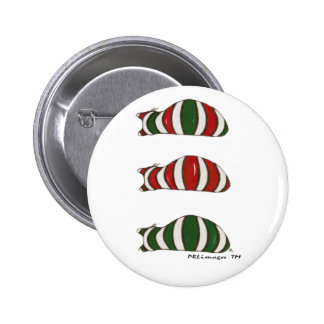 Xmas Stacking Cats Button