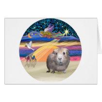 Xmas Star - Guinea Pig 2 Card