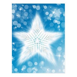 Xmas Stars Post Card