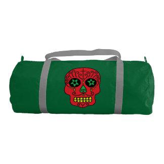 Xmas Sugar Skull Duffle Bag