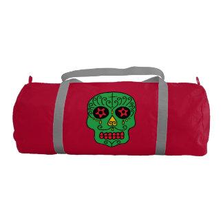 Xmas Sugar Skull Gym Bag