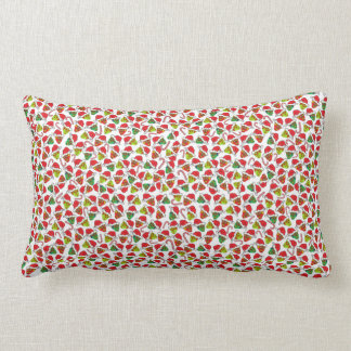 Xmas Sugar Skulls Lumbar Pillow