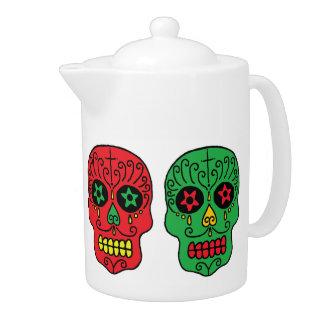 Xmas Sugar Skulls