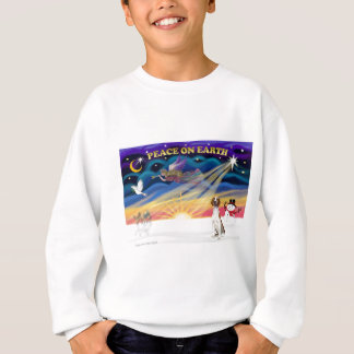 Xmas Sunrise - American Foxhound 1 Sweatshirt