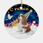 Xmas Sunrise -  Blenheim Cavalier Christmas Tree Ornament