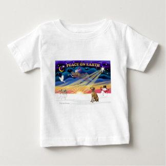 Xmas Sunrise - Vizsla 1 Baby T-Shirt