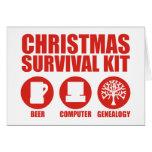 XMAS Survival Kit - Beer Cards
