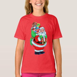 xmas t shirt,Santa claus T-Shirt