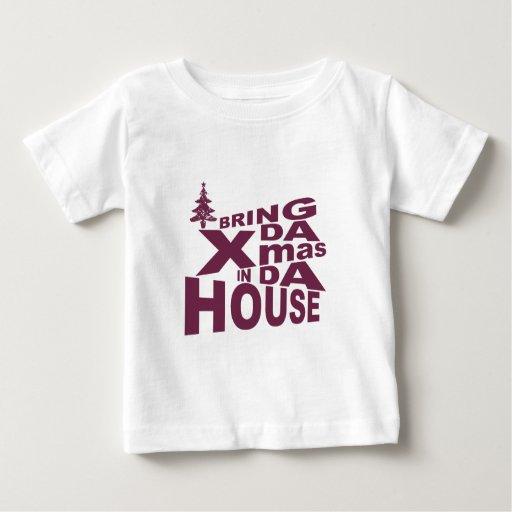 xmas time infant t-shirt