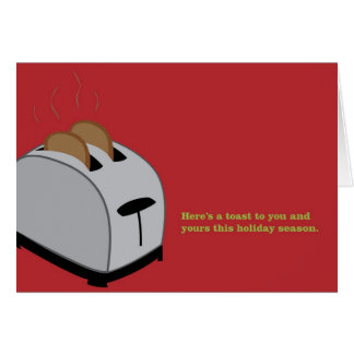 Xmas Toaster - Red Card