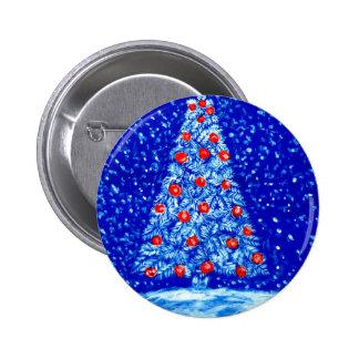 Xmas Tree Art02 Pinback Button