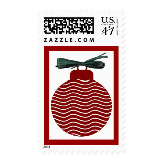 xmas tree ball postage