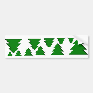 Xmas Tree Bumper Stickers