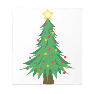 Xmas Tree Scratch Pads