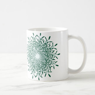 xmas-tree or snowflake coffee mug