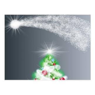Xmas Tree Post Card