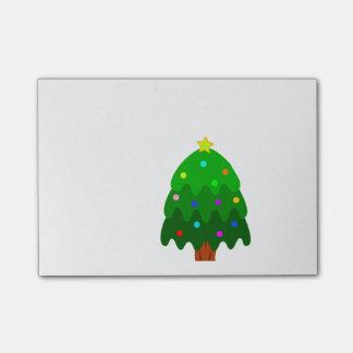 Xmas Tree Post-it Notes