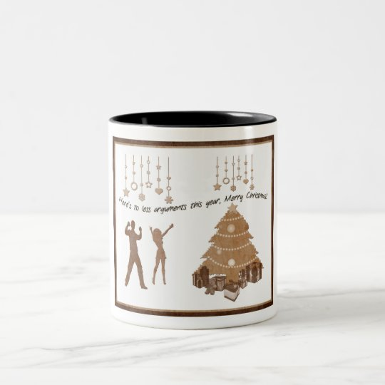 xmas Two-Tone coffee mug