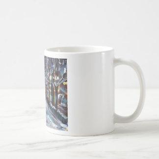 xmas westie happy holiday greeting mug
