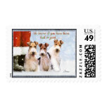 Xmas Wires Stamps