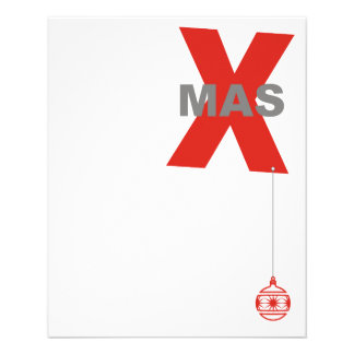 Xmas with Christmas Tree Ornament + your idea Flyer