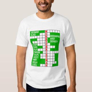 Xmas Word Scramble T-Shirt