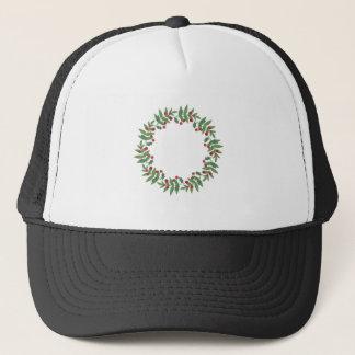 Xmas Wreath Trucker Hat