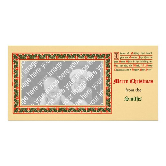 XMasHolder, Christmas1910AaCnframePC, Smiths, f... Card