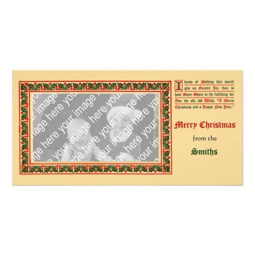 XMasHolder, Christmas1910AaCnframePC, Smiths, f... Photo Card