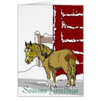 Xmaspony, Seasons Greetings Card