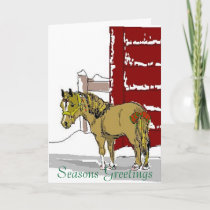 Xmaspony, Seasons Greetings Holiday Card