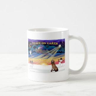 XmasSunrise-BLoodhound Classic White Coffee Mug