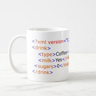 XML Programming Coffee Mug