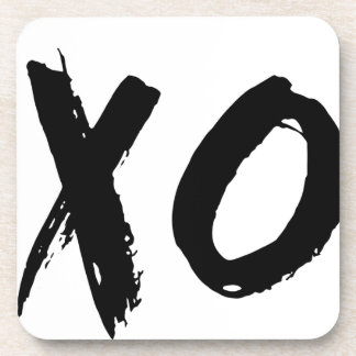 XO Brush Minimal Coaster