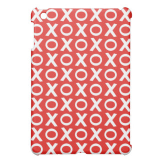 XO Kisses and Hugs Pattern Illustration red white Case For The iPad Mini