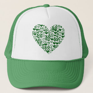 XO Mosaic Trucker Hat