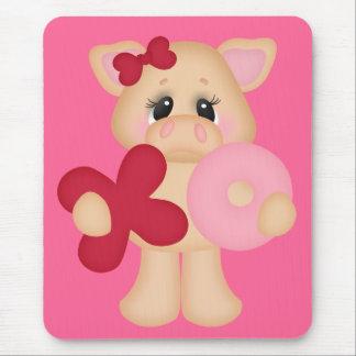 XO Piggy Mouse Pad