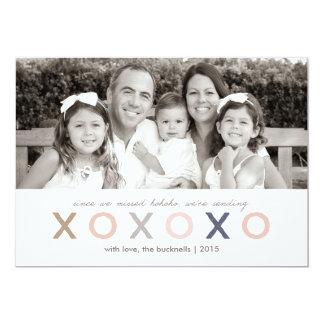 XO XO XO | Late Christmas Card