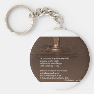 Xocai devotee keychain