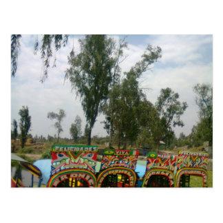xochimilco postcard