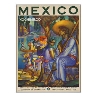 Xochimilco Posters