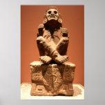 Xochipilli, dios azteca del poster de la música