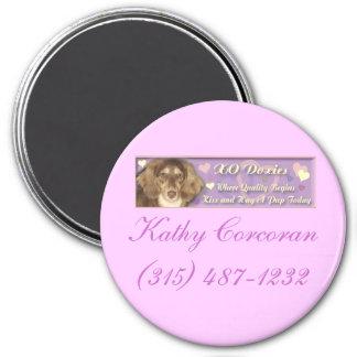 XODoxiesBanner, Kathy Corcoran(315) 487-1232 3 Inch Round Magnet