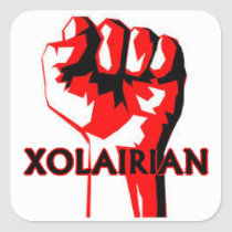 Xolairian Square Sticker