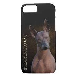 Case-Mate Barely There iPhone 7 Case with Xoloitzcuintli Phone Cases design