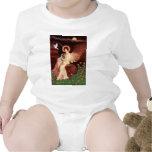 Xoloitzcuintle (Xolo) - ángel asentado Trajes De Bebé