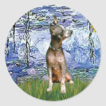 Xoloitzcuintle (Xolo) - Lilies 6 Sticker